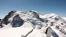 Mont Blanc From Aiguille De Midi