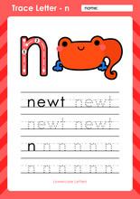 N - Newt : Alphabet A-Z Tracin...