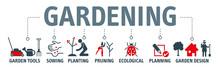 Gardening Icons Set And Design...