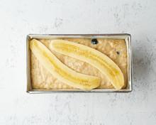 Homemade Banana Bread. Dough F...