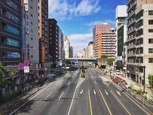 City Street Amidst Buildings