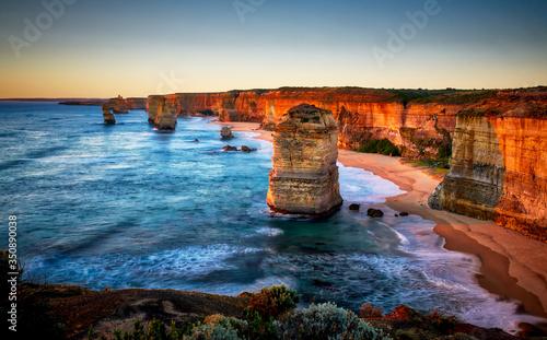 Scenic View Of Sea Against Sky Fototapet