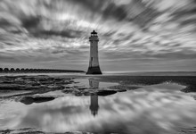 Perch Rock Lighthouse . New Br...