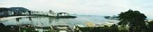 Panoramic View Of City At Guanabara Bay