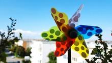 Close-up Of Colorful Pinwheel ...