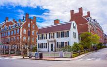 John F Kennedy Street In Harvard University Area Of Cambridge Reflex