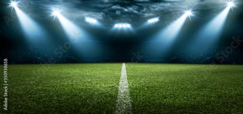 Obraz Fussball Stadion - fototapety do salonu