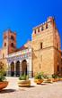 Monreale Cathedral in Sicily reflex