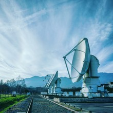 National Astronomical Observatory Against Sky