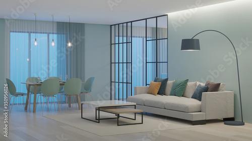 Fototapeta Modern house interior