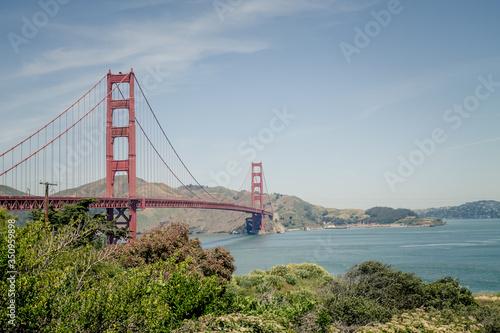 View Of Golden Gate Bridge фототапет