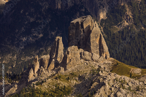 Photo Montagna - cortina - dolomiti - cinque torri - 5 torri