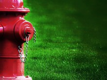 Close-up Of Fire Hydrant On Fi...