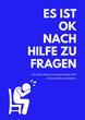 Leinwanddruck Bild - Psychische Gesundheit - Depression als Poster
