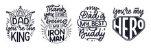 Set With Lettering For Father'...