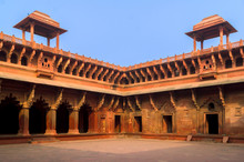 Palace Inside Of The Red Fort,...