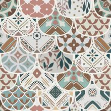 Luxury Oriental Tile Seamless ...