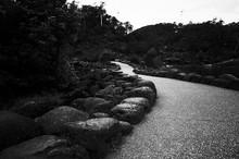 Stones Along Road