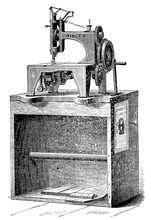 The First Singer Sewing Machin...