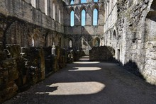 Abandoned Rievaulx Abbey On Su...