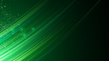 Abstract Green Line Lighting Speed Design Concept Background