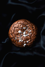 Brownie Cookie With Sea Salt.