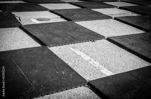 Stampa su Tela View Of Paving Stone