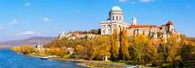 Basilica Is Religion Landmark Of Esztergom In Hungary