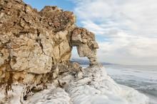 Stone Elephant On Baikal. Saga...