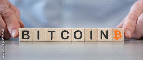Fototapety, obrazy: Concept of bitcoin