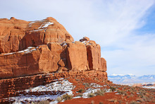 Rock Formations In The Arches ...