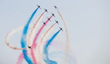 Red Arrows At The Southport Ai...