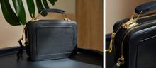 Collage Of Leather Handbag Wit...