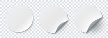 Mockup Realistic Paper Round S...