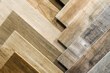 Variety Of Wooden Like Tiles. ...