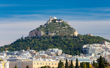 Athens. Mount Lycabettus.