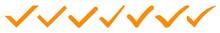 Check Mark Icon Orange | Check...