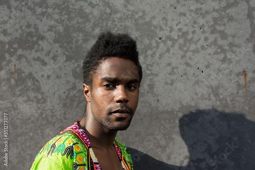 afrikanische man Canvas