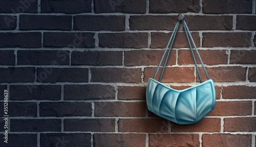 Obraz na płótnie Surgical Mask Concept