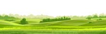Rural Hills  Landscape Vector ...