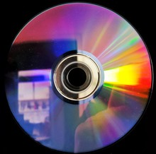 Close-up Of Compact Disc