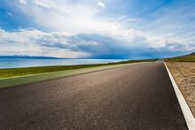 Highway In Xinjiang Province