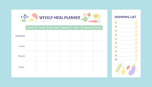 Weekly Meal Planner And Shoppi...