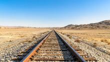 Desert Train Tracks