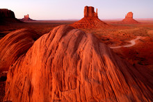 USA, Sandstone Rock Formation ...