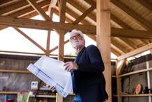 Senior Man With Construction P...