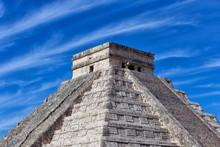 Mayan Pyramid Of Kukulcan Agai...