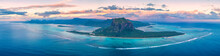 Aerial Panoramic Of Le Morne B...