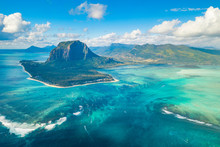 Aerial View Of Le Morne Braban...