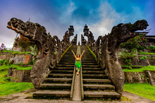 Woman At The Besakih Temple, T...